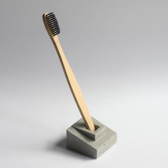 Бетонний холдер для зубної щітки (бетонный держатель)