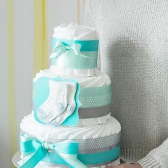 Торт из памперсов / подгузников