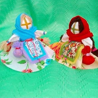 Кукла мотанка Кубышка-травница.