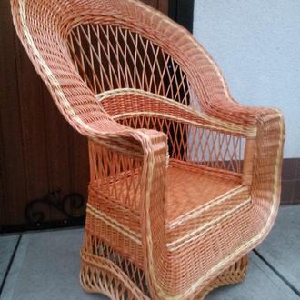 """Кресло из лозы """"Капля Елит"""""""