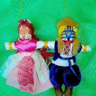 Куклы мотанки Неразлучники