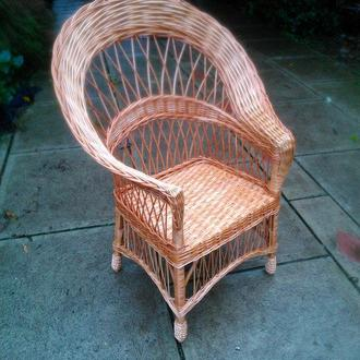 """Кресло из лозы """"Капля №1"""""""