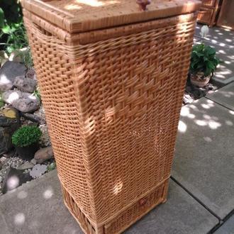 Ящик большой квадратный с шухлядой
