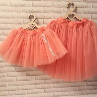 Фатиновые юбочки мама-дочка