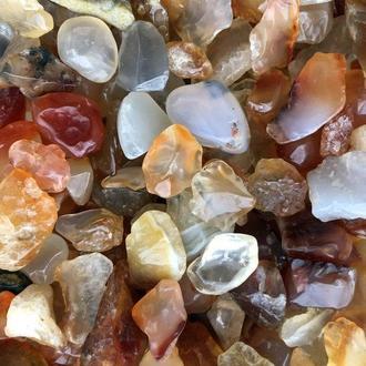 Натуральный камень крошка (Сердолик) 10-20 мм (10 гр)