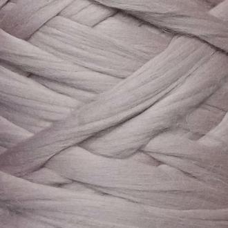 Шерсть для валяния австралийский меринос 23 микрон (10 грамм = 25 см) - чайная роза. Фелтинг. Вовна