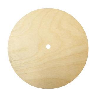 Основа для часов поднос заготовка фанера круглая 300 мм, толщина 8 мм. Підставка, заготовка для творчості