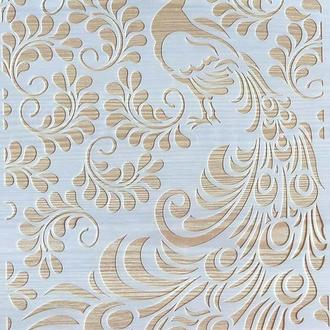Трафарет многоразовый пластик 47 теснение штамп на стены шаблон Жар птица узор для скрапбукинга 290*200 мм