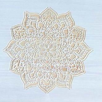 Трафарет многоразовый пластик 50 теснение штамп на стены шаблон Мандала узор для скрапбукинга 290*200 мм