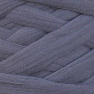 Австралийский меринос для валяния 23 микрон (100 грамм = 250 см) - Стальной. Шерсть для валяния серая. Фелтинг