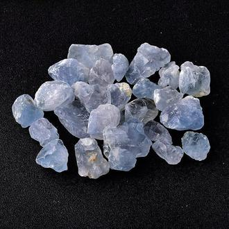 Натуральный камень Аквамарин 10-27 мм 20 грамм Камни декор Натуральний камінь Аквамарин скол