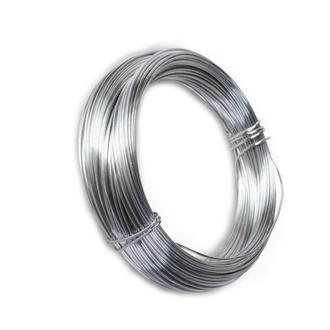 Проволока стальная гибкая серебренного цвета 0,6 мм 1 м