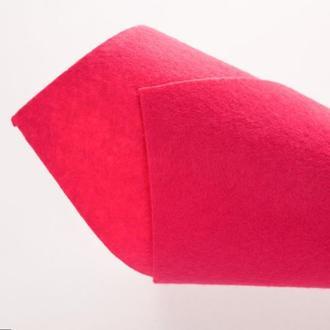 Розовый Фетр 1 мм 20 х 20 см для творчества и рукоделия