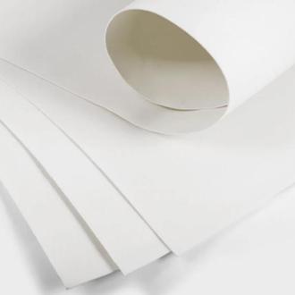 Белый Фоамиран 20 * 20 см толщина 1 мм для флористики творчества и рукоделия