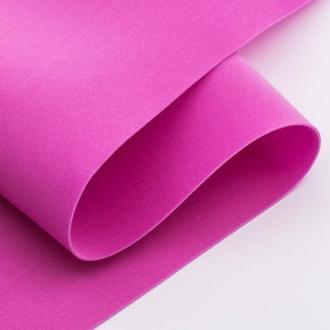 Розовый Фоамиран 20 * 20 см толщина 1 мм для флористики творчества и рукоделия