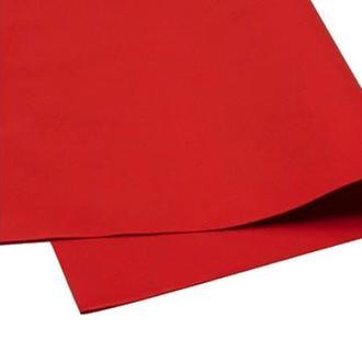Красный Фоамиран 20 * 20 см толщина 1 мм для флористики творчества и рукоделия
