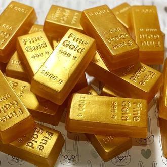 Мыло Золотой слиток