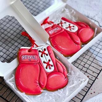 Пряник спортсмену, пряник боксерские перчатки