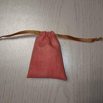 Подарочный замшевый мешочек для продажи и хранения ювелирных украшений