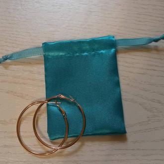 Атласные мешочки для продажи и хранения ювелирных изделий