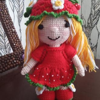 Лялька маля Полуничка