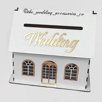 """Свадебный домик для конвертов """"Wedding""""💌"""
