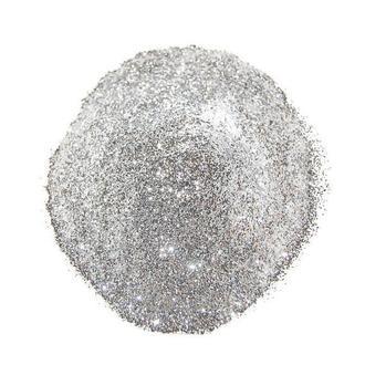 Глиттер (блестки), серебро, 10 гр