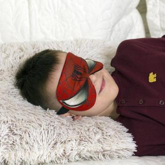 Маска для сна Герои Марвел Спайдермен Человек паук