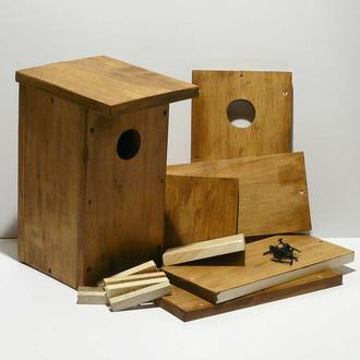 """Шпаківня - конструктор классична, будиночок для птахів - набір деталей """"Збери сам"""""""