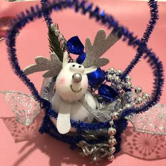 Новогодний сказочный оленёнок