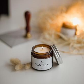 """Ароматизированная соевая свеча """"VANILLA"""", 60/100 мл"""