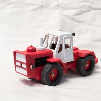 Машинка из дерева / Трактор Т-150