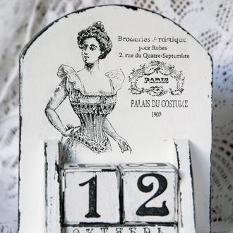 Вечный календарь «Корсет»