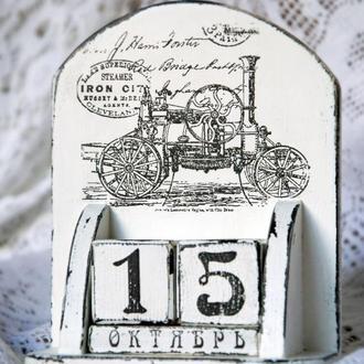 Вечный календарь «Steamer»