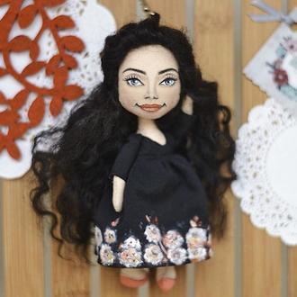 Кукла брелок с портретным сходством
