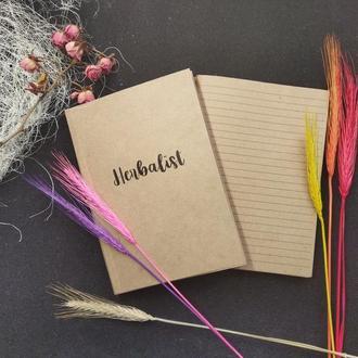 Блок для блокнота А5 Herbalist для полевых цветов