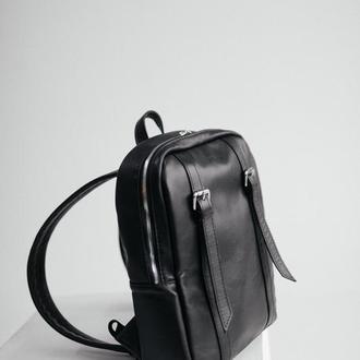 Мужской кожаный рюкзак,  стильный мужской рюкзак, рюкзак для путешествий, шкіряний чоловічий рюкзак