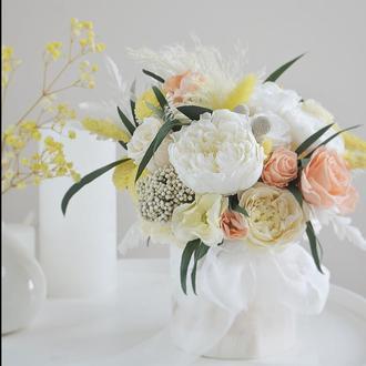 Букет из живых стабилизированных цветов
