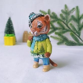 Ёлочная игрушка Тигр