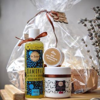 Подарочный набор для волос Шампунь для волос Масло для волос Мыло
