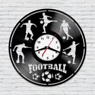 Настенные часы из винила Футбол