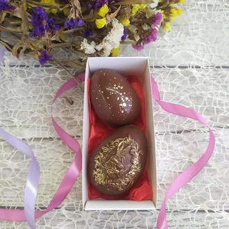 Шоколадные Пасхальные Яйца наборы с цукатами и орехами
