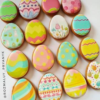 Пряничные яйца на Пасху