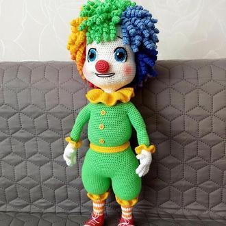 Клоун Семицветик