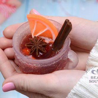 Мыло чашка с глинтвейном