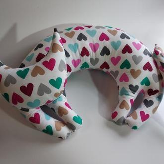 Автомобильная подушка Подушка кот Подушки Днепр Подушки под шею Коты подушки