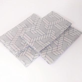 Салфетка из плотного хлопка для сервирования стола, салфетка из ткани, текстильная салфетка 45х50 см