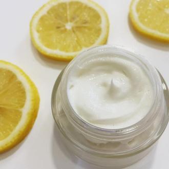 Лимонный крем для лица «Ультраувлажнение»