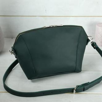 Кожаная женская сумочка Майя, кожа Grand, цвет зеленый