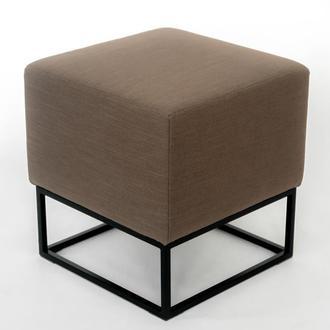 Пуф квадратный Melva LOFT 20 42х42x45 см коричневий